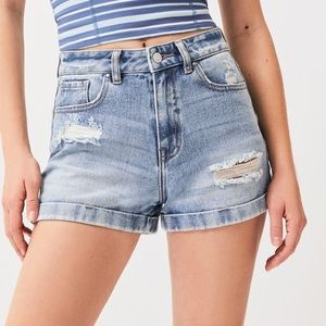 ripped Mom shorts